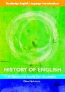Routledge English Language Introductions: History of English