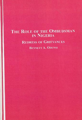 The Role of the Ombudsman in Nigeria