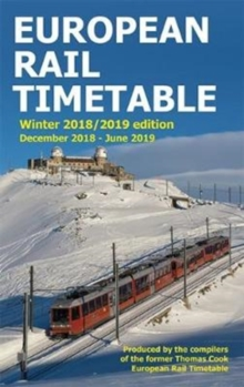 European Rail Timetable Winter 2018-2019 Edition