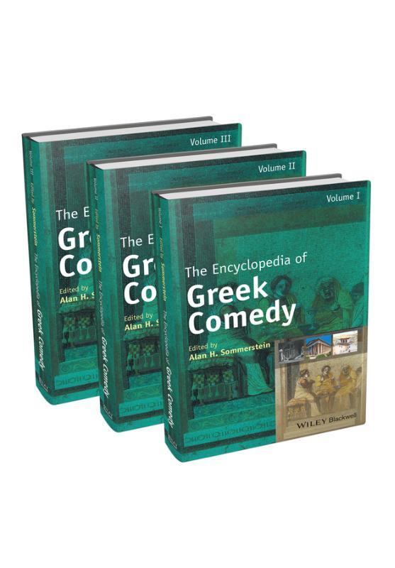 The Encyclopedia of Greek Comedy