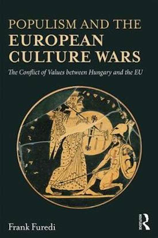 Populism and the European Culture Wars