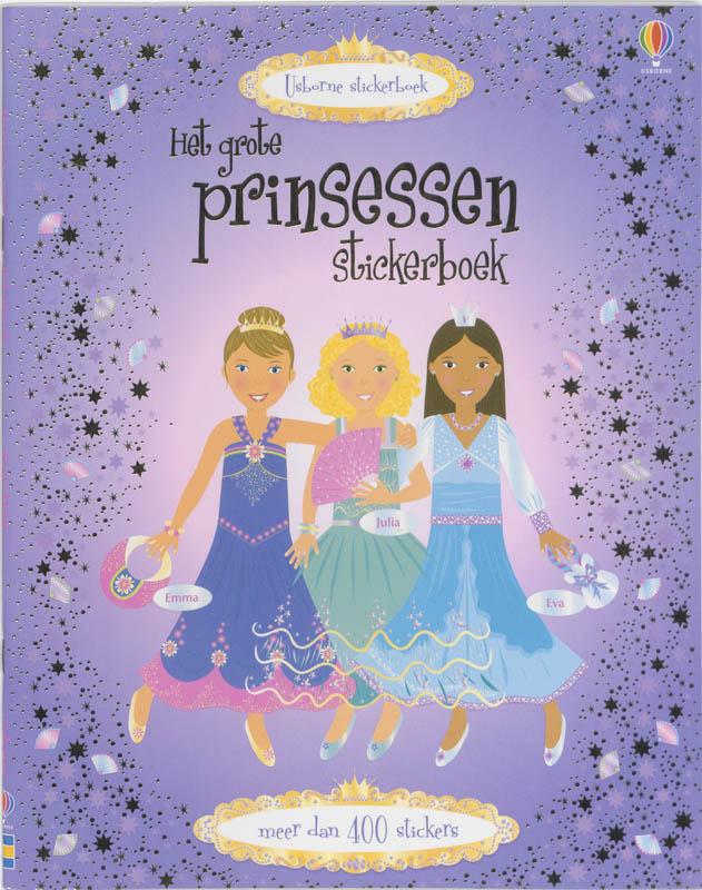 Het Grote Prinsessen Stickerboek alleen in set 3ex