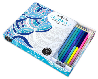 Serenity ( Coloring Book and Pencils ) Color In; Vive Le Col