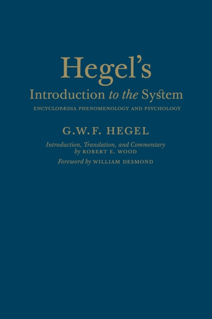 Hegel's Introduction to the System