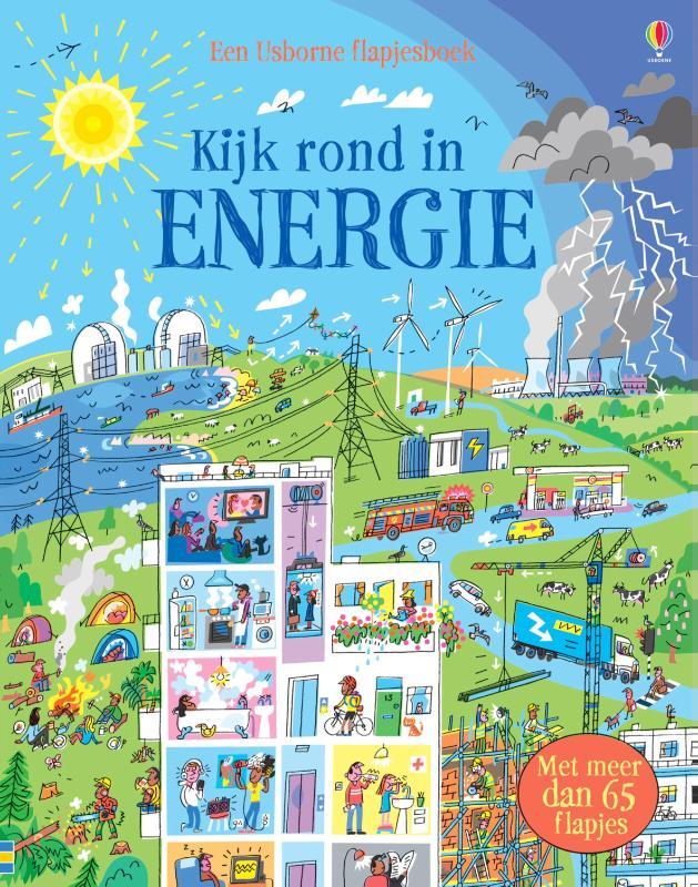 Kijk rond in energie - Flapjesboek