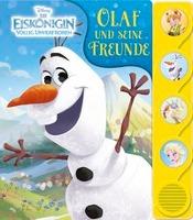 Disney Die Eiskönigin - Olaf und seine Freunde - Frozen - Silhouetten-Soundbuch mit 4 lustigen Geräuschen für Kinder ab 3 Jahren