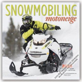 SNOWMOBILING 2020 SQUARE FOIL WYMAN
