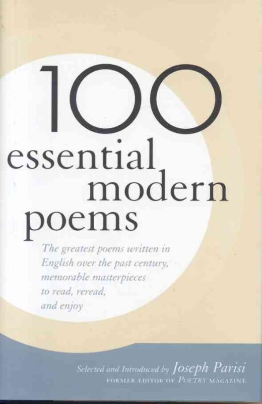 100 Essential Modern Poems
