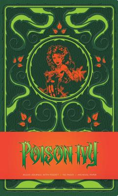 Dc Comics: Poison Ivy Hardcover Ruled Journal