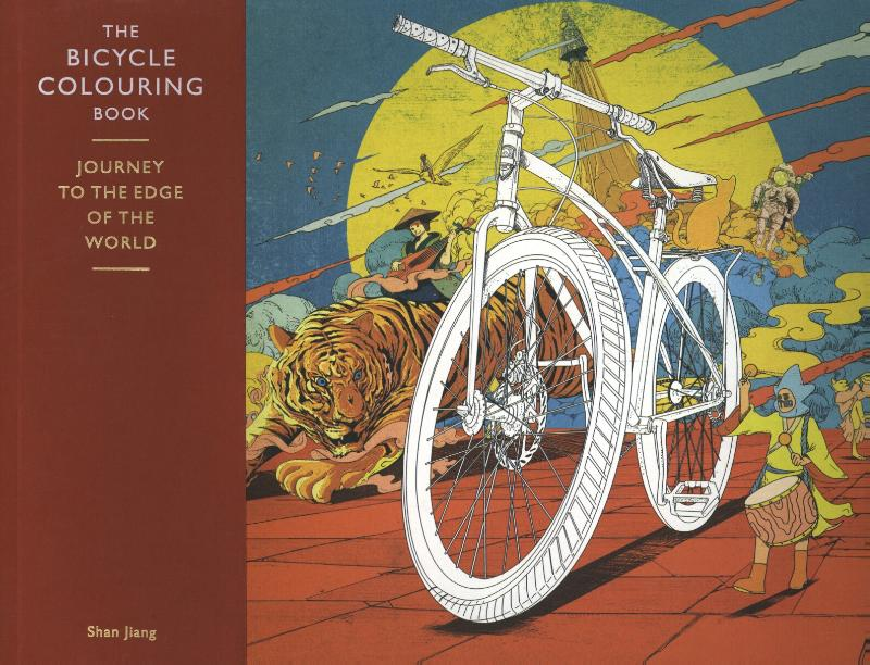 Bicycle Colouring Book