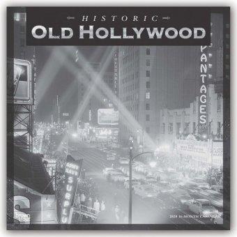 Old Hollywood 2020 - 18-Monatskalender