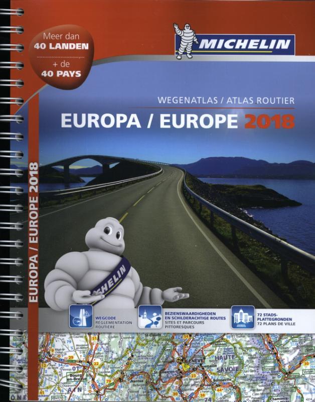 Atlas Michelin Europa 2018