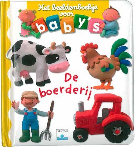 Beeldenboekje voor baby's: De boerderij