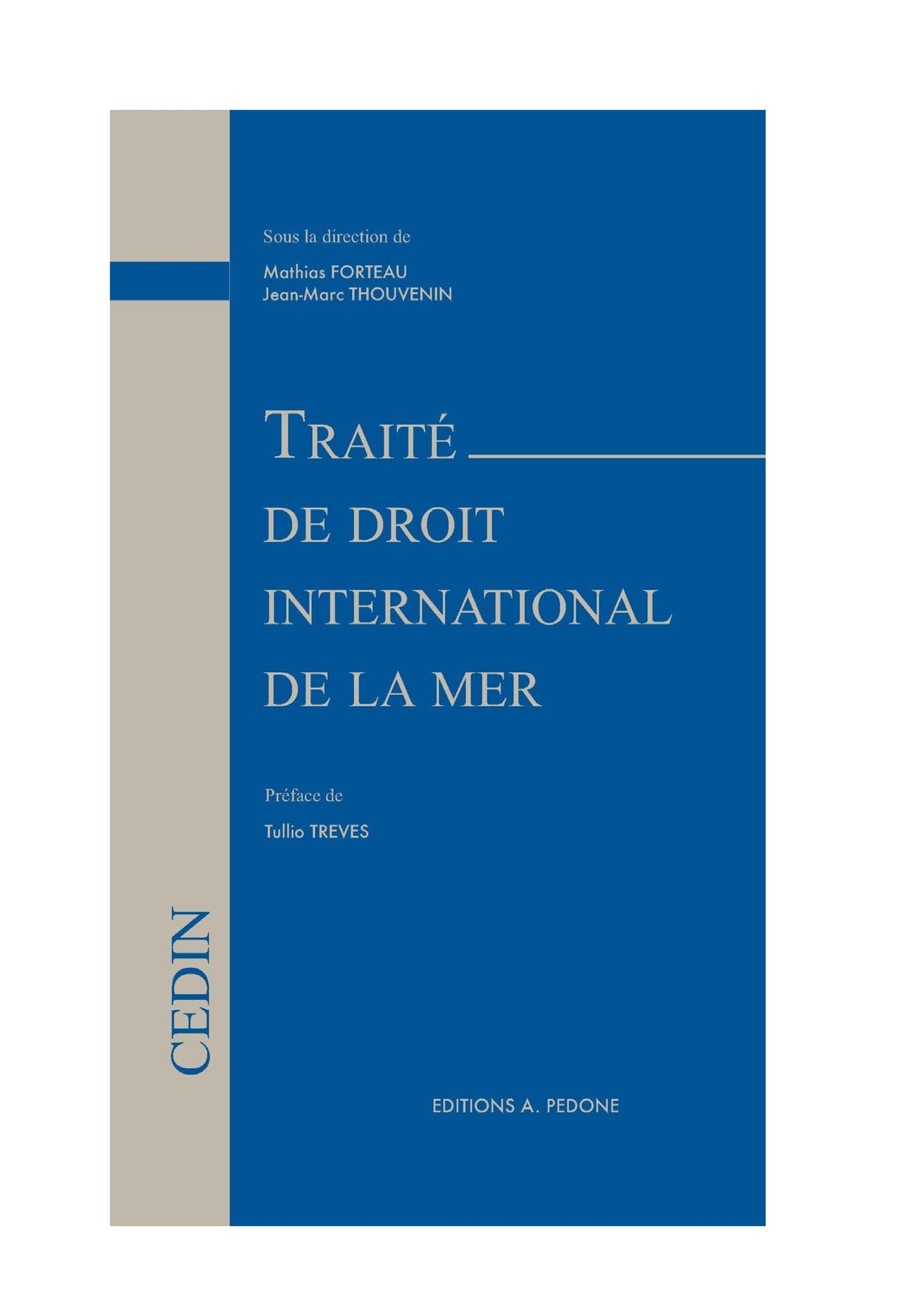 Traité de droit international de la mer