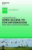 Open Access to STM Information