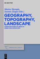 Geography, Topography, Landscape