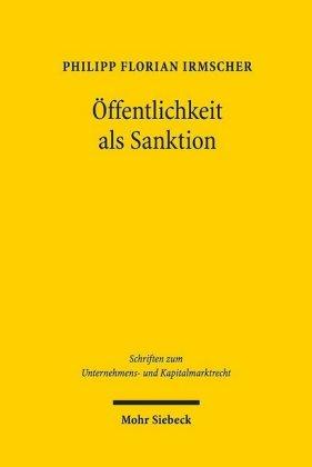 Öffentlichkeit als Sanktion