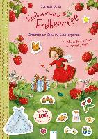 Erdbeerinchen Erdbeerfee. Glitzersticker-Spaß im Erdbeergarten
