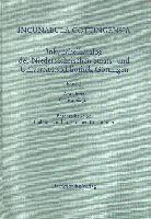Incunabula Gottingensia. Inkunabelkatalog der Niedersächsischen Staats- und Universitätsbibliothek Göttingen / Abteilung Critica bis Jus