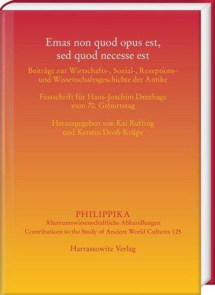 Emas non quod opus est, sed quod necesse est