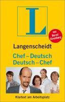 Langenscheidt Chef - Deutsch / Deutsch - Chef