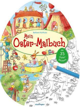 Mein Oster-Malbuch