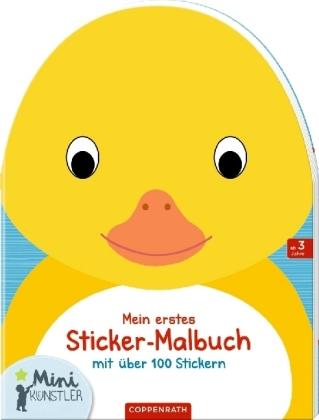 Mein erstes Sticker-Malbuch: Ente
