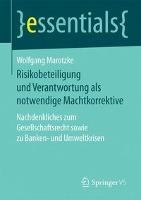 Risikobeteiligung und Verantwortung als notwendige Machtkorrektive