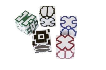 Infinite Design Cube: Black and White
