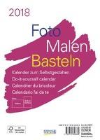 Foto-Malen-Basteln 2018 weiß, Format A5