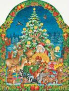 Advents-Kalender Weihnacht im Wald