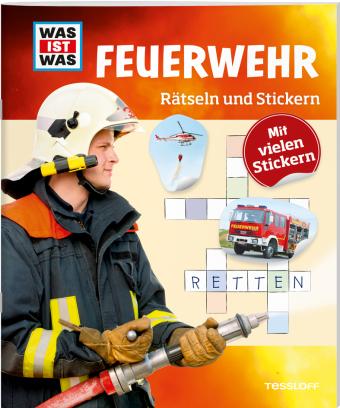 Rätseln und Stickern: Feuerwehr