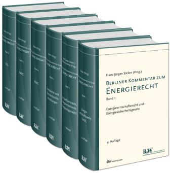 Berliner Kommentar zum Energierecht. 6 Bände