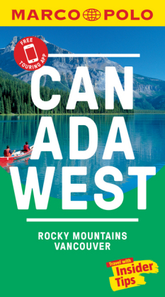 Canada West Marco Polo Pocket Travel Guide 2019 - with pull
