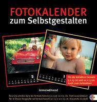 Fotokalender zum Selbstgestalten schwarz