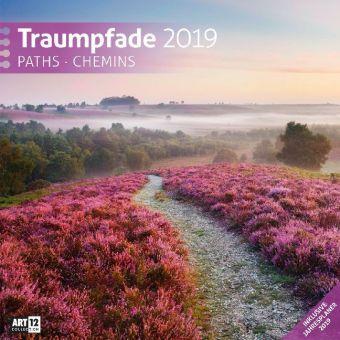 Traumpfade 2019 Broschürenkalender