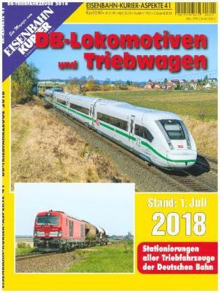 DB-Lokomotiven und Triebwagen - Stand 1. Juli 2018