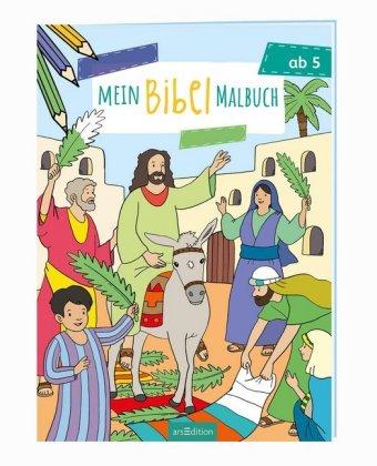 Mein Bibel-Malbuch