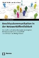 Anschlusskommunikation in der Netzwerköffentlichkeit