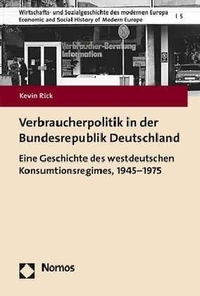 verbraucherpolitik in der bundesrepublik deutschland door rick kevin. Black Bedroom Furniture Sets. Home Design Ideas