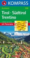 Tirol - Südtirol - Trentino - Panorama 1 : 250 000
