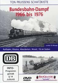 Bundesbahn Dampf 1966-1976