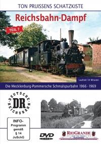 Die Mecklenburg-Pommersche Schmalspurbahn 1966 - 1969 DVD