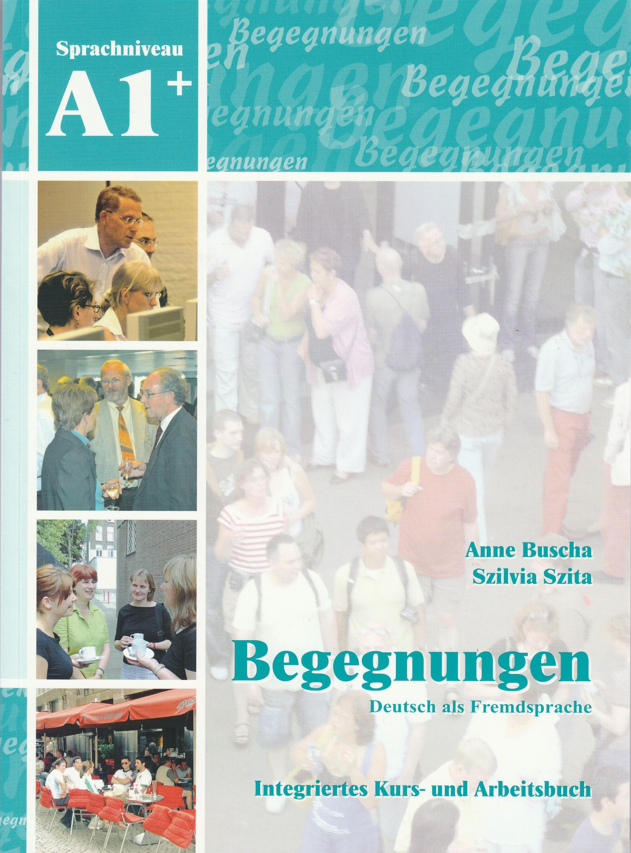 begegnungen deutsch als fremdsprache a1 integriertes kurs und arbeitsbuch 2cd door. Black Bedroom Furniture Sets. Home Design Ideas
