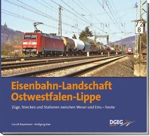 Eisenbahn-Landschaft Ostwestfalen-Lippe