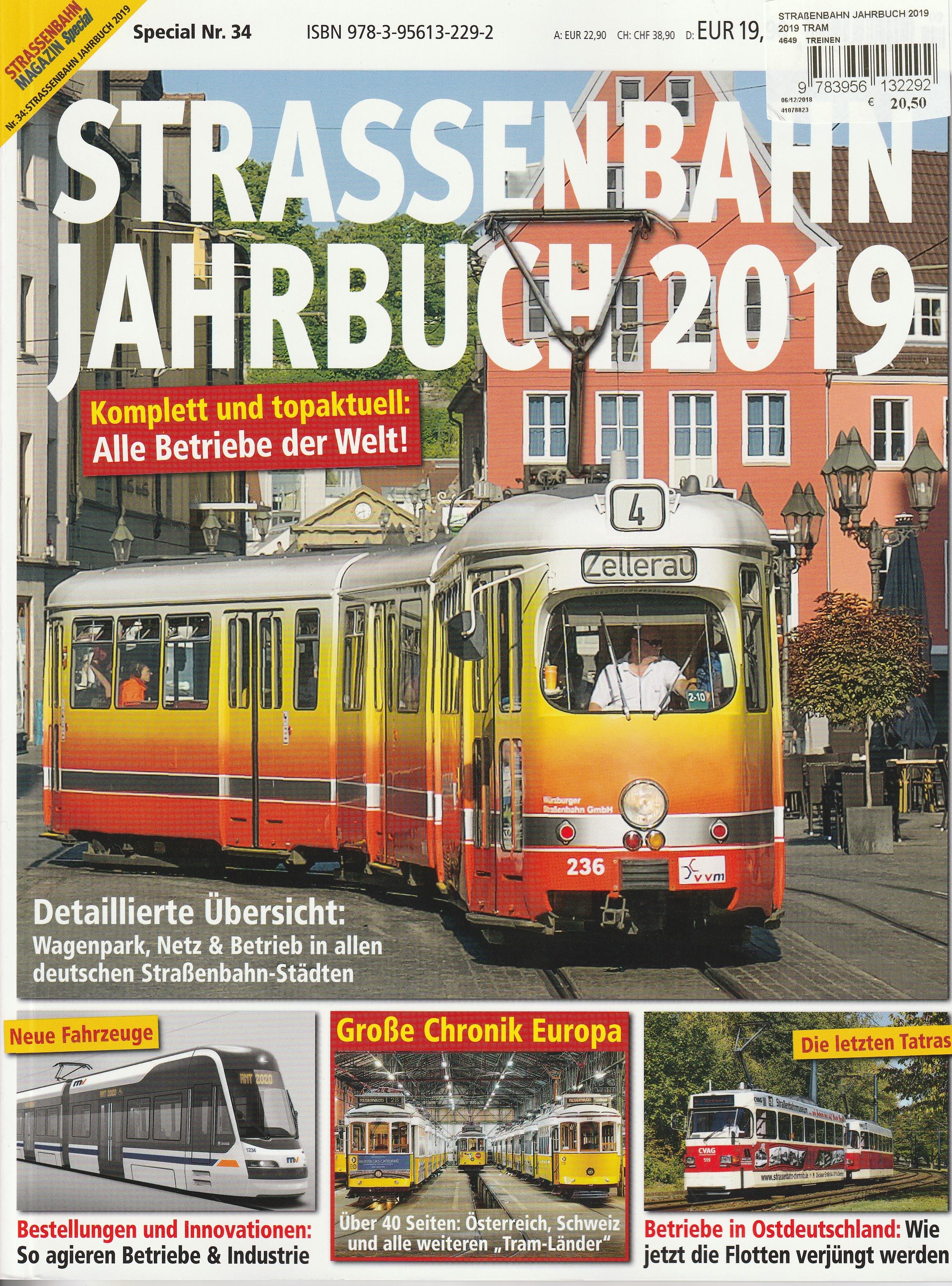 Strassenbahn Jahrbuch 2019