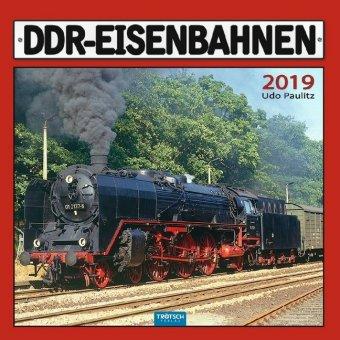 Technikkalender DDR-Eisenbahnen 2019 Bahnkalender Ostdeutschland Züge