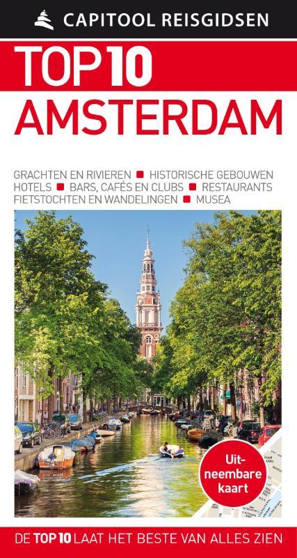 Capitool Top 10 Amsterdam + uitneembare kaart