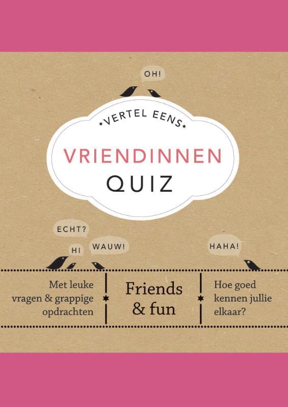 Vriendinnen Quiz