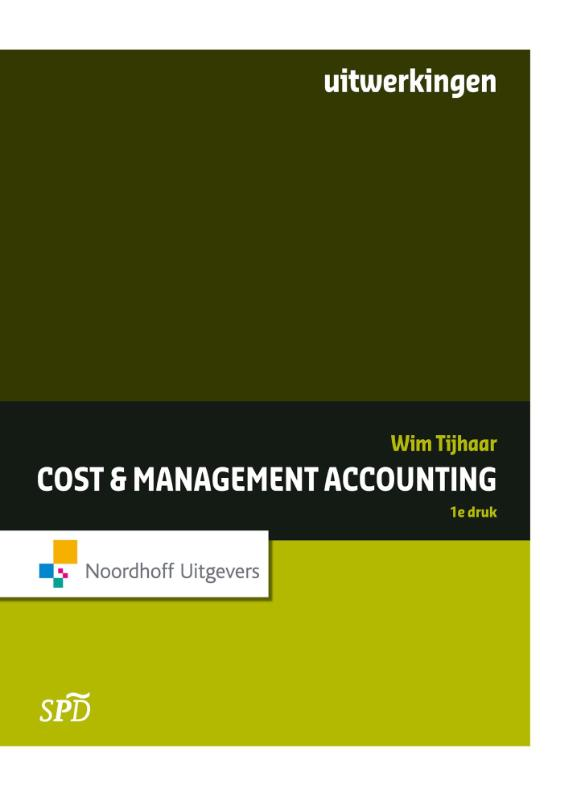 Cost en management accounting